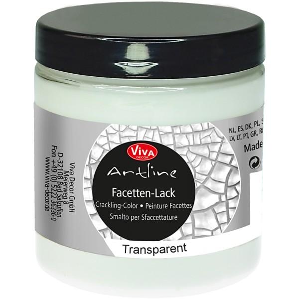 Vernis transparent effet craquelé - 250 ml - Photo n°1