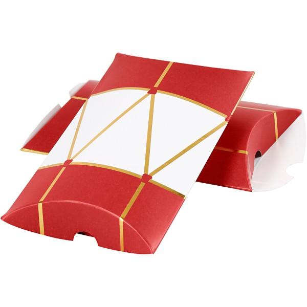 Pochettes cadeaux Tambour - 14,9 x 9,4 x 2,5 cm - 3 pcs - Photo n°1