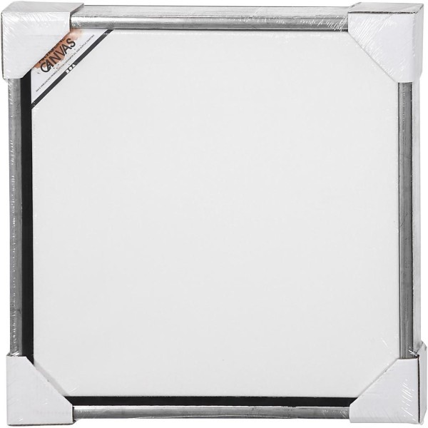 Carton entoilé avec cadre métal - 44 x 44 cm - Photo n°2