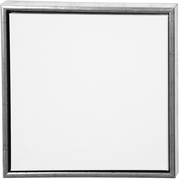 Carton entoilé avec cadre métal - 44 x 44 cm - Photo n°1