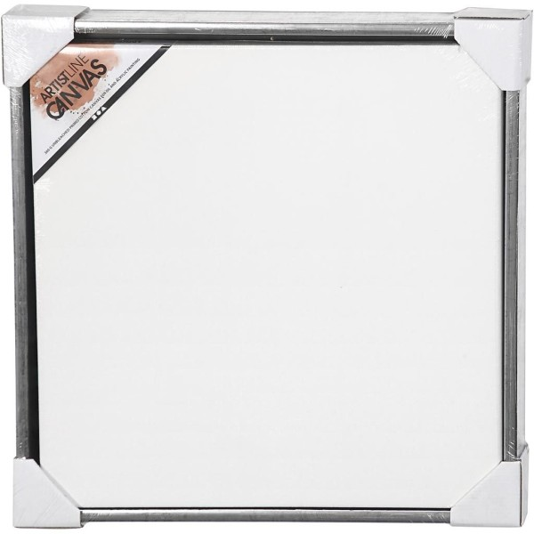 Carton entoilé avec cadre métal - 54 x 54 cm - Photo n°2