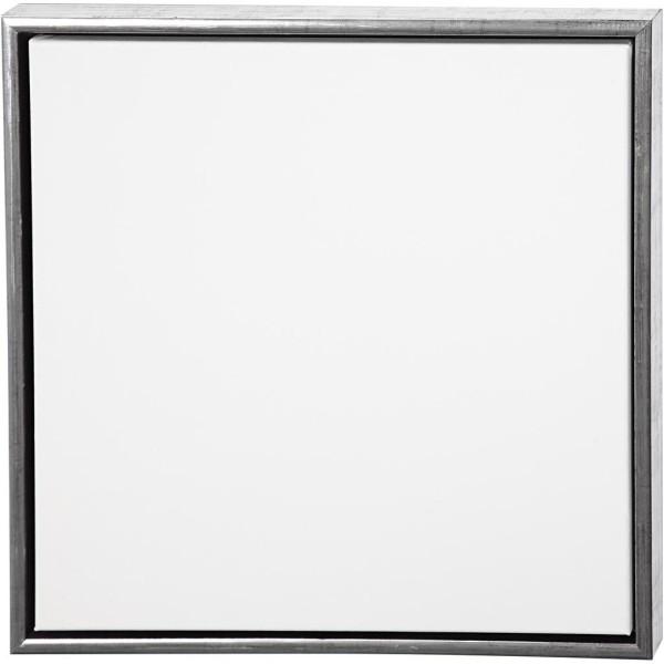Carton entoilé avec cadre métal - 54 x 54 cm - Photo n°1