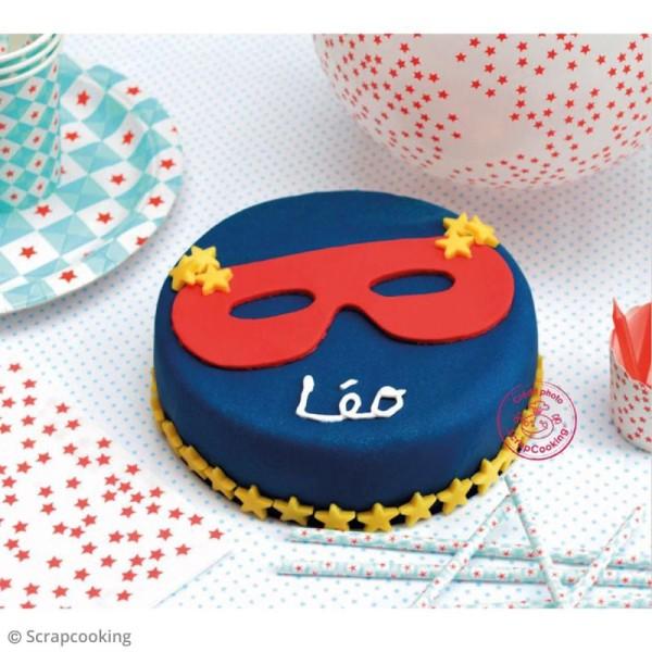 Pâte à sucre Bleu foncé - 250 g - Photo n°2