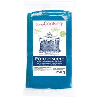 Pâte à sucre Bleu foncé - 250 g