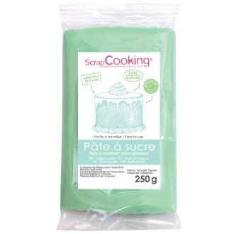 Pâte à sucre Vert d'eau - 250 g