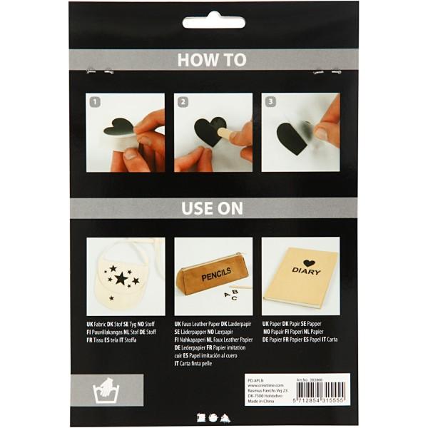 Décalcomanies - Chiffres et lettres - 2 planches de 12,2 x 15,3 cm - Photo n°3