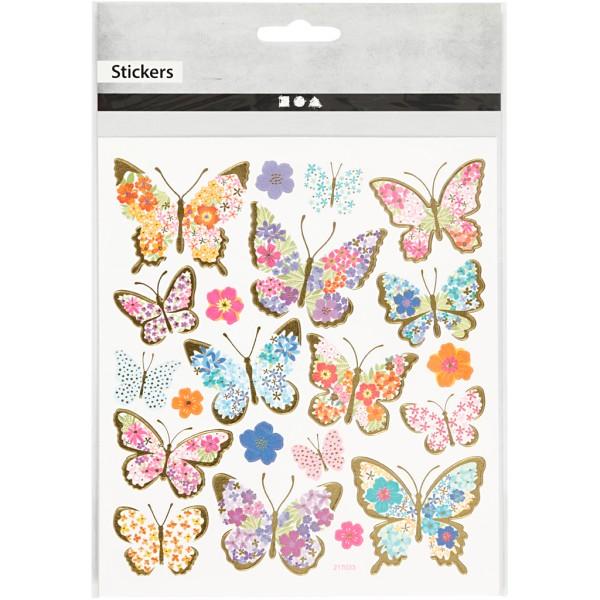 Stickers pailletés - Calendrier de l'avent - 25 pcs - Photo n°2