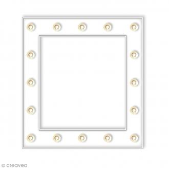Cadre lumineux à led - 26 x 26 cm