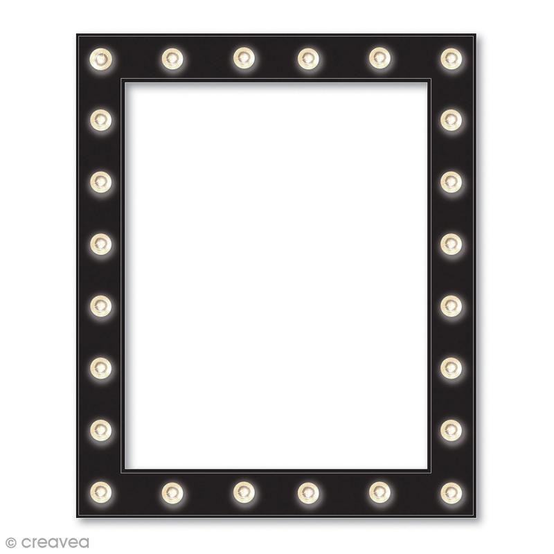 cadre lumineux led 36 x 44 cm lettre lumineuse led creavea. Black Bedroom Furniture Sets. Home Design Ideas