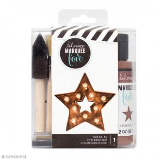 Kit Encre Marquee Love - Effet rouille