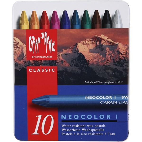 Boîte de crayons de couleur Caran d'Ache - 8 mm - 10 pcs - Photo n°2