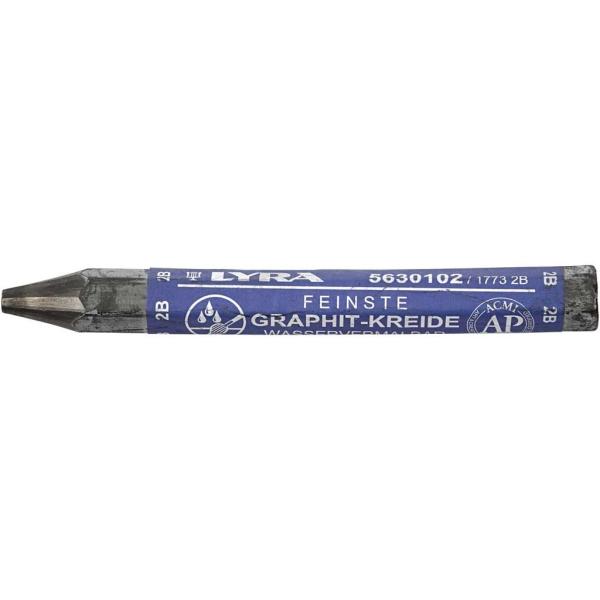 Crayons Graphites Aquarellables, Ép. 1 Cm, L: 6,5 Cm, 24Pièces - Photo n°2