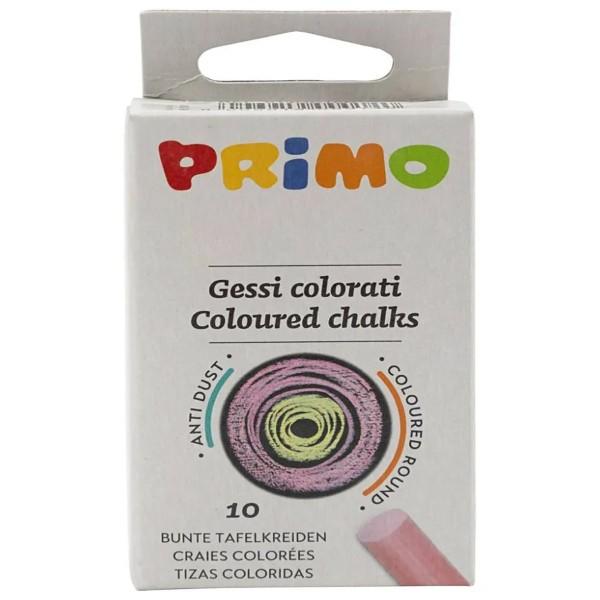 Lot de craies multicolores pour tableau - 1 x 8 cm - 10 pcs - Photo n°1
