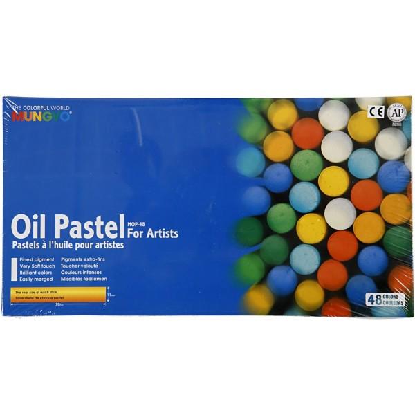 Pastels à l'huile Mungyo - 48 pcs - Photo n°2