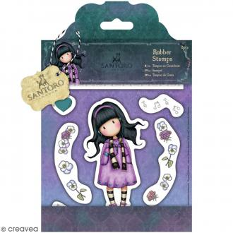 Tampon cling Santoro - Gorjuss Little Song - 8 pcs