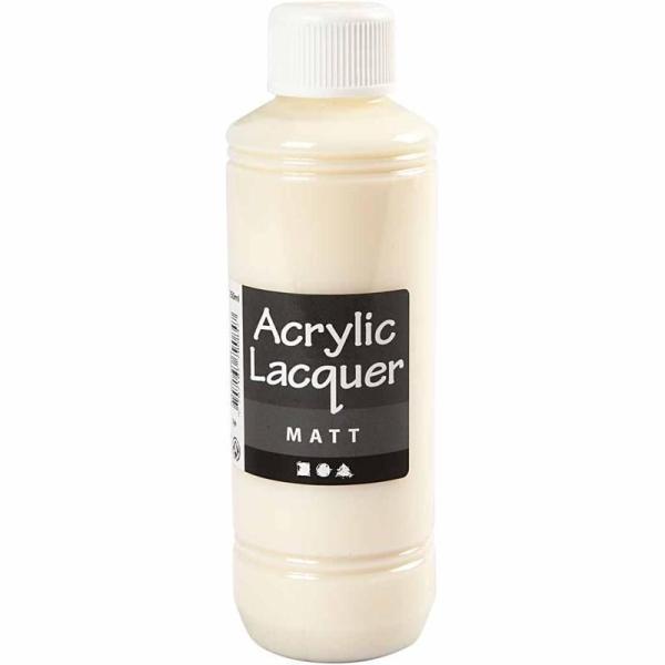 Vernis Acrylique - Mat - 250 ml - Photo n°1