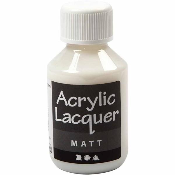Vernis acrylique - Mat - 100 ml - Photo n°1