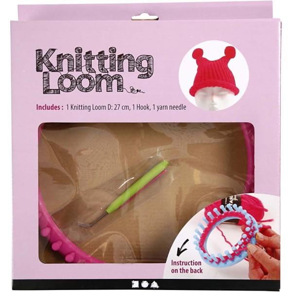 Métier à tricoter rond - 27 cm de diamètre - Photo n°2