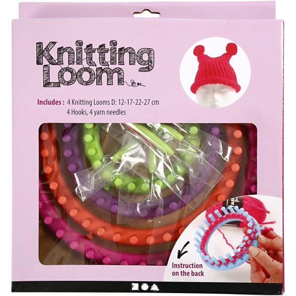Set métier à tricoter - 12 à 27 cm - 12 pcs - Photo n°2