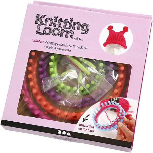 Set métier à tricoter - 12 à 27 cm - 12 pcs - Photo n°3