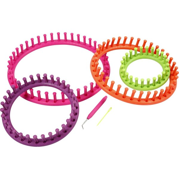 Set métier à tricoter - 12 à 27 cm - 12 pcs - Photo n°4