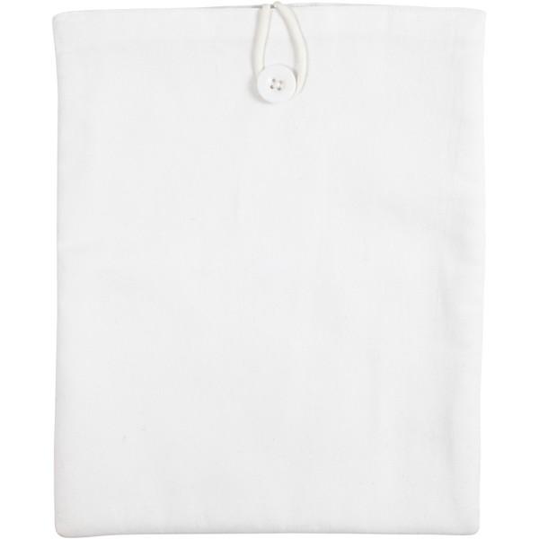 Housse de tablette en tissu à décorer - 22 x 27 cm - Photo n°1