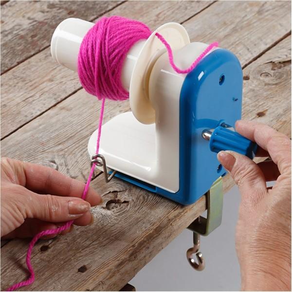 Enrouleur pour fil et laine - 12 cm - Photo n°2