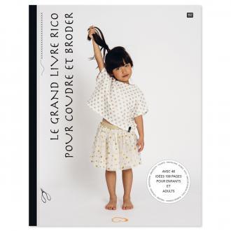 Livre couture et broderie - Le grand livre Rico pour coudre et broder