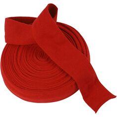 Tricot tubulaire acrylique - Rouge cerise - 60 mm x 10 m