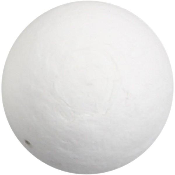 Boule de ouate de cellulose - Blanc - 30 mm - 200 pcs - Photo n°1