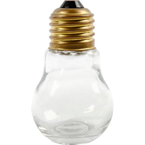 Petites ampoules en verre - 8 cm - 12 pcs - Photo n°1
