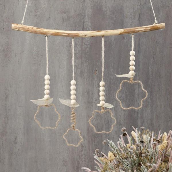 Perles en bois Lilas de Perse - 15 mm - 20 pcs - Photo n°5
