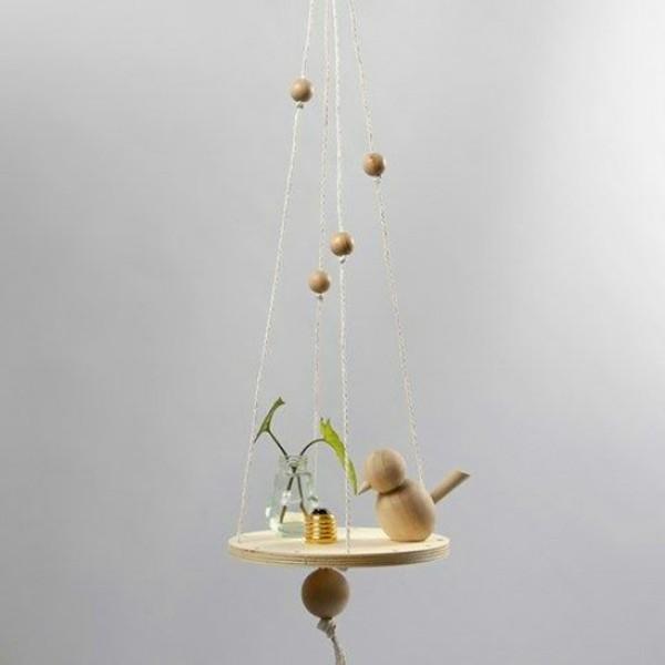 Perles en bois Lilas de Perse - 20 mm - 14 pcs - Photo n°3