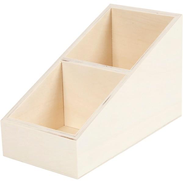 Boîte d'affichage en bois - 10 x 12 x 19,5 cm - Photo n°1