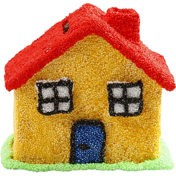 Tirelire maison en bois - 10,1 x 10 x 5,4 cm - Photo n°5