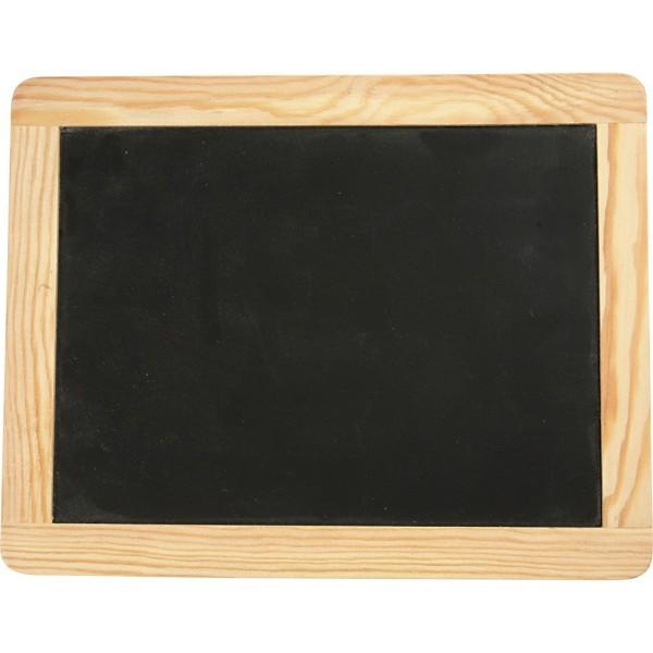 Tableau pour craie - 19 x 24 cm - Photo n°1