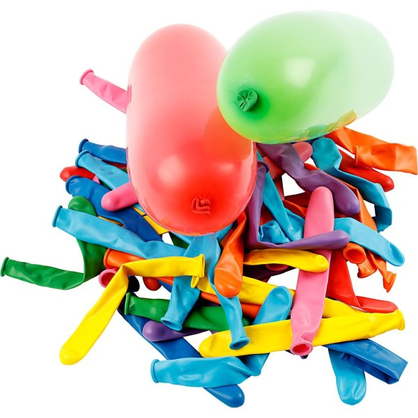 Assortiment de ballons allongés - 100 pcs - Photo n°1