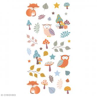 Stickers Puffies 13,5 x 8 cm - Automne - 35 pcs