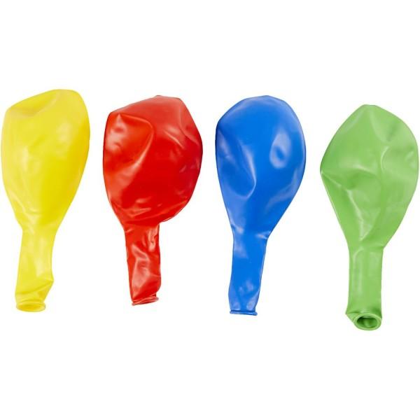 Assortiments de ballons géants 41 cm - 4 pcs - Photo n°3