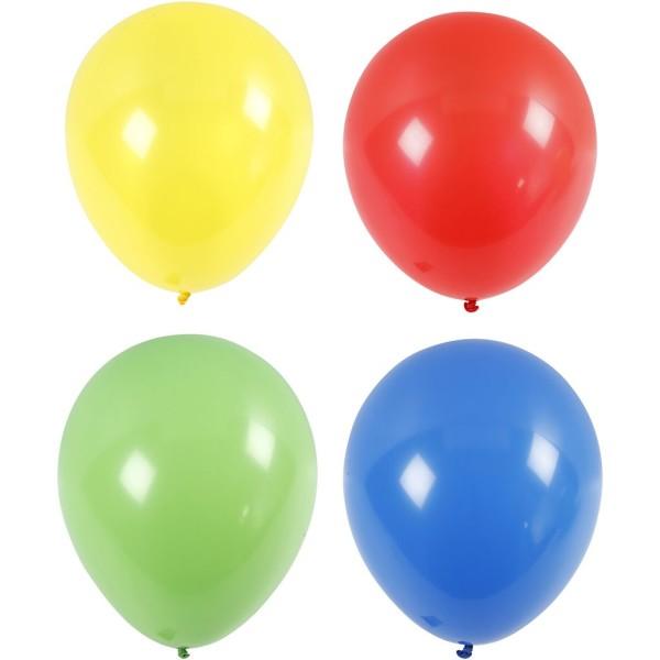 Assortiments de ballons géants 41 cm - 4 pcs - Photo n°1