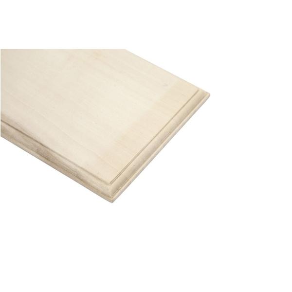 Panneau en bois à décorer - 10 x 30 cm - Photo n°3
