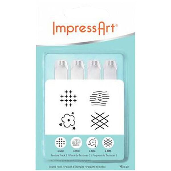Tampon poinçon pour gravure métal - Formes graphiques - 6 mm - Photo n°2