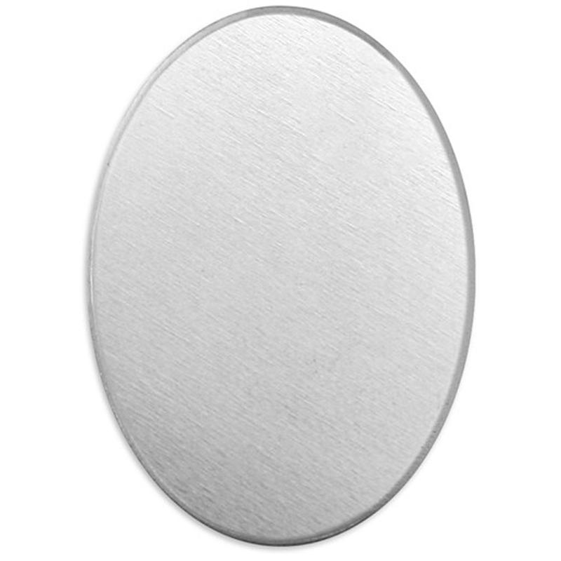 4 x Plat Réparation plaque ovale fin SS Acier Inoxydable 56 x 15 x 2 mm-par OneStopDIY