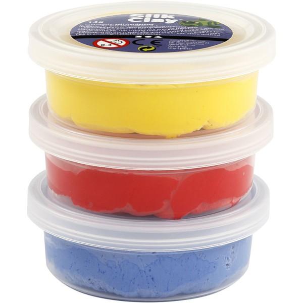 Assortiment de pâte à modeler auto-durcissante Silk Clay - Classique - 3 x 14 gr - Photo n°4