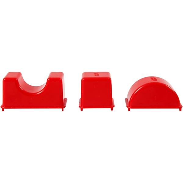 Moules Sable à modeler Sandy Clay - Formes géométriques - 12 pcs - Photo n°4