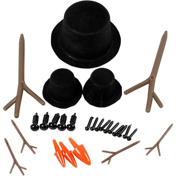 Accessoires pour figurine - 2,3 à 7 cm - Photo n°1