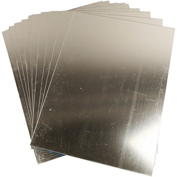 Miroirs en plastique 29,5 x 21 cm - 10 pcs - Photo n°1