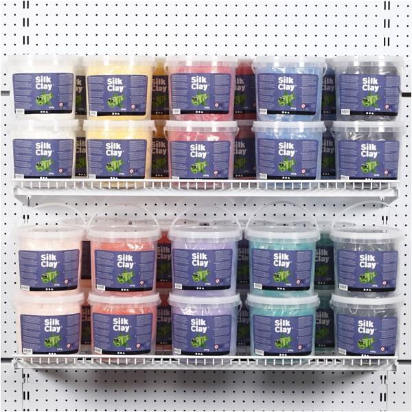 Silk Clay®, Couleurs Assorties, 10X650Gr - Photo n°1