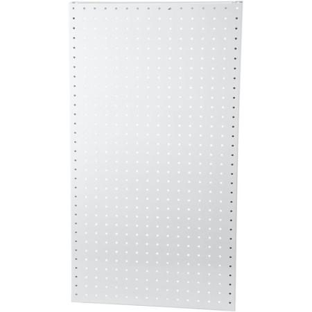 Plaque Arrière Perforée, H: 850 Mm, L: 400 Mm, Blanc, 1Pièce