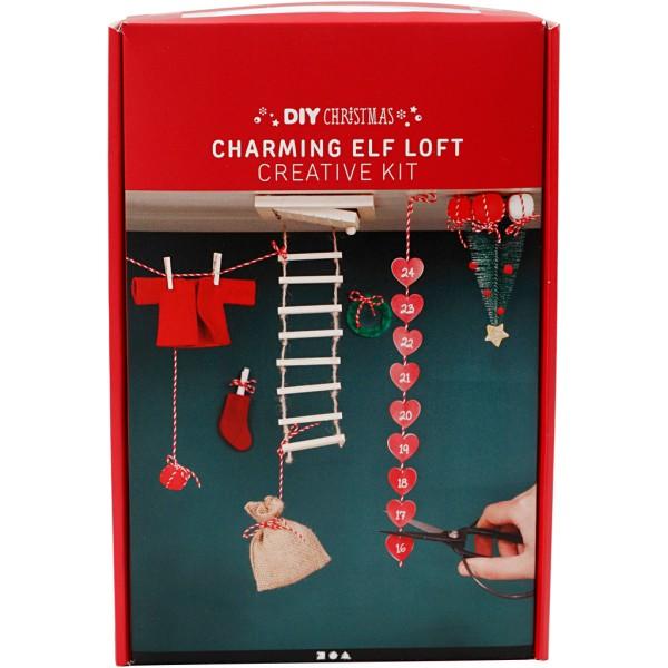 Kit de création calendrier de l'avent - Loft pour Elfe - Photo n°2